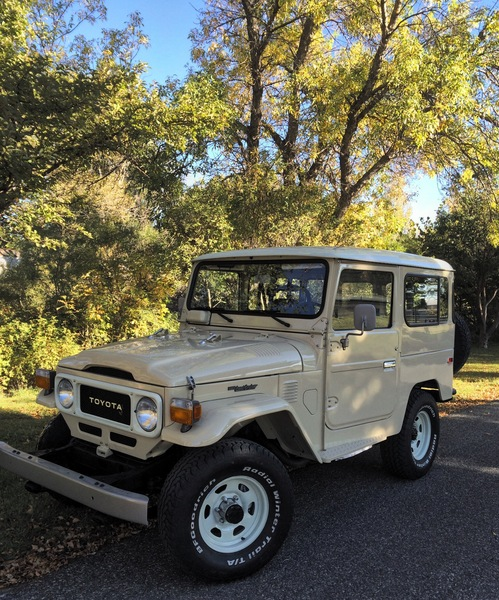 Beautiful '82 FJ40 headed to Wisconsin