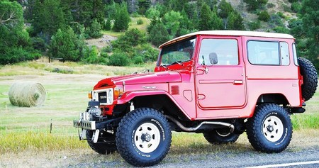 1982 FJ40 Freeborn Red