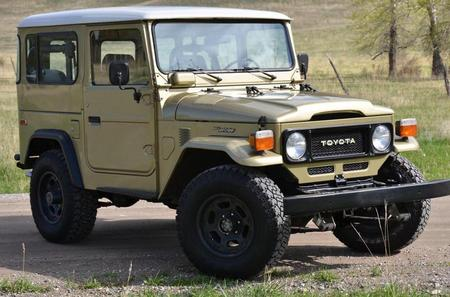 1983 FJ40 AC PS Icon Gold