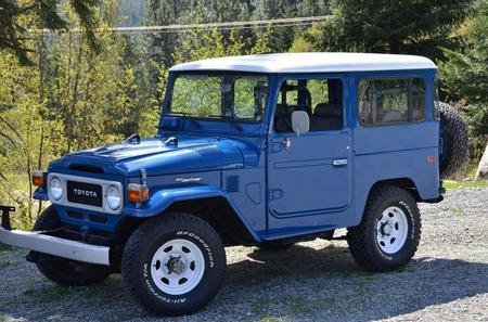 1981 FJ40 AC PS Nordic Blue
