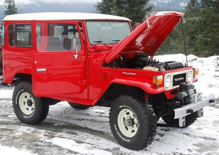 1979 FJ40 Freeborn Red
