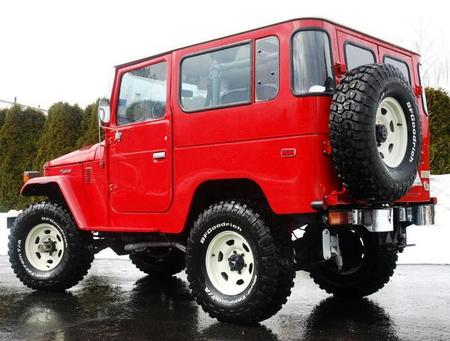 1979 FJ40 AC PS Freeborn Red