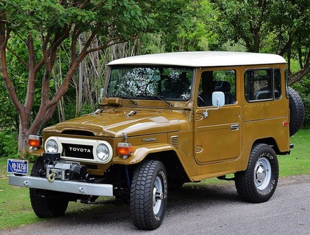 1977 FJ40 PS Olive Brown