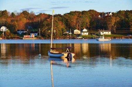 Were my Heart is; Home across the Bay; Mahone Bay, NS