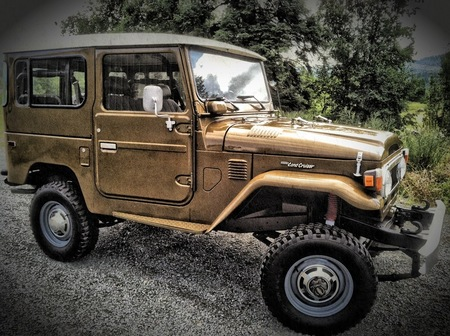 1978 FJ Buffalo Brown
