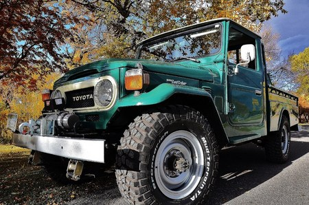 1978 FJ45 stock factory AC PS and the best goodies, ie: Warn Winch, HFS, BDS, BFG Mud