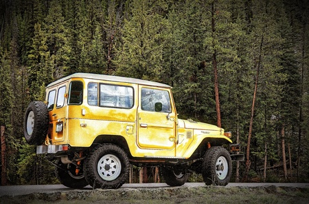 '84 BJ42 in Yellowstone