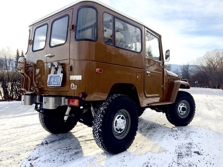 FJ40 Olive Brown
