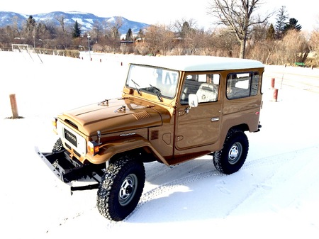 1981 FJ40 Olive Brown