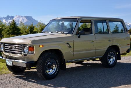 '87 FJ60 Original paint in fantastic shape