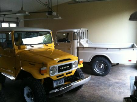 1983 BJ42 along side a 1981 FJ45