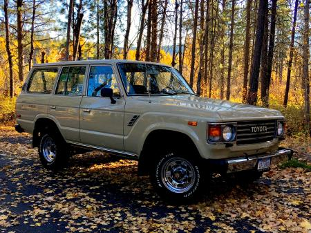 1987 FJ60 Survivor in fantastic Original Condition. The nicest 60 anywhere.