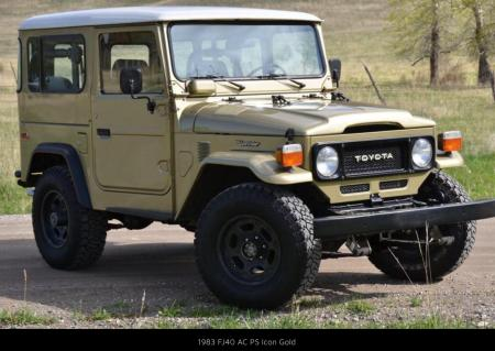 1983 FJ40 Factory AC PS